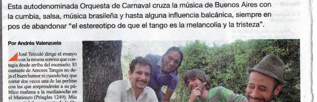 Diario Página 12 – 23.05.2015