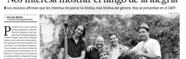 Diario Tiempo Argentino – 06.02.2015